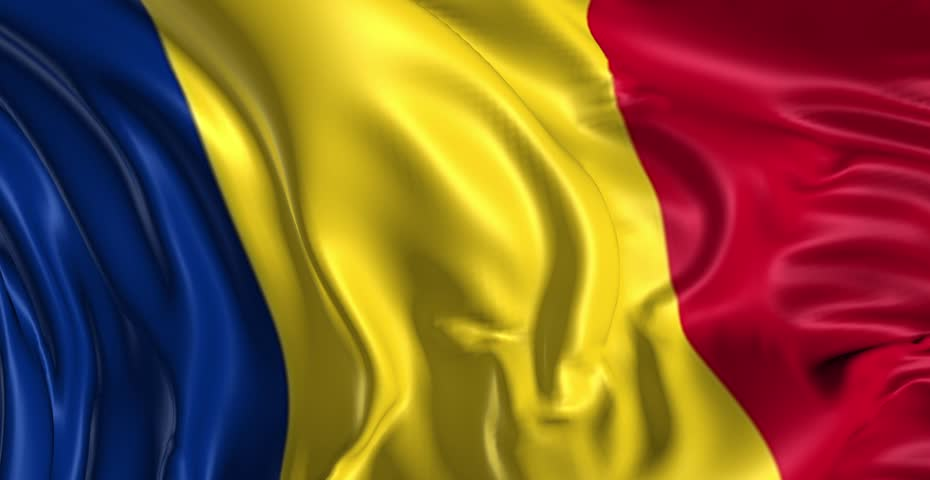 Romania Flag Stock Footage Video | Shutterstock