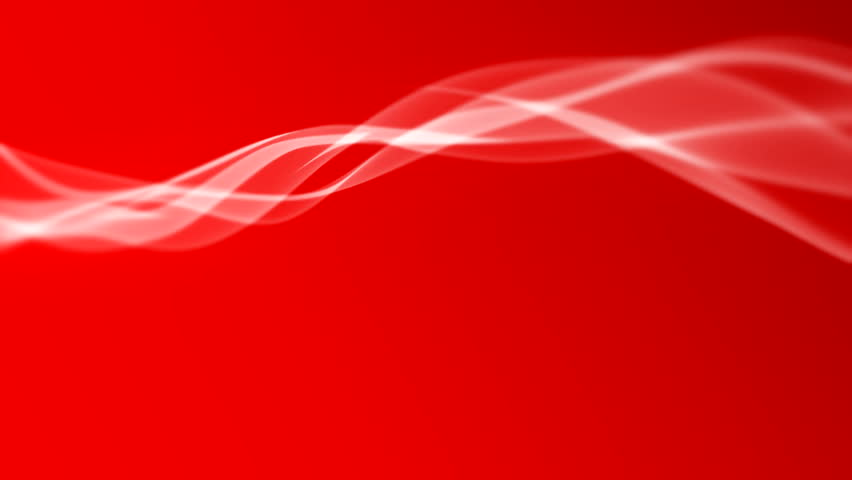 Red Blood Color Smokeon A White Background Stock Footage