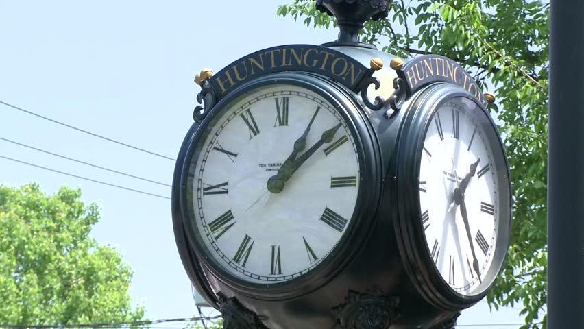 Huntington clock tower