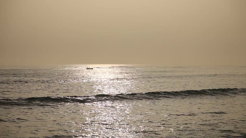 video footage of the pacific ocean in Lima, Peru
