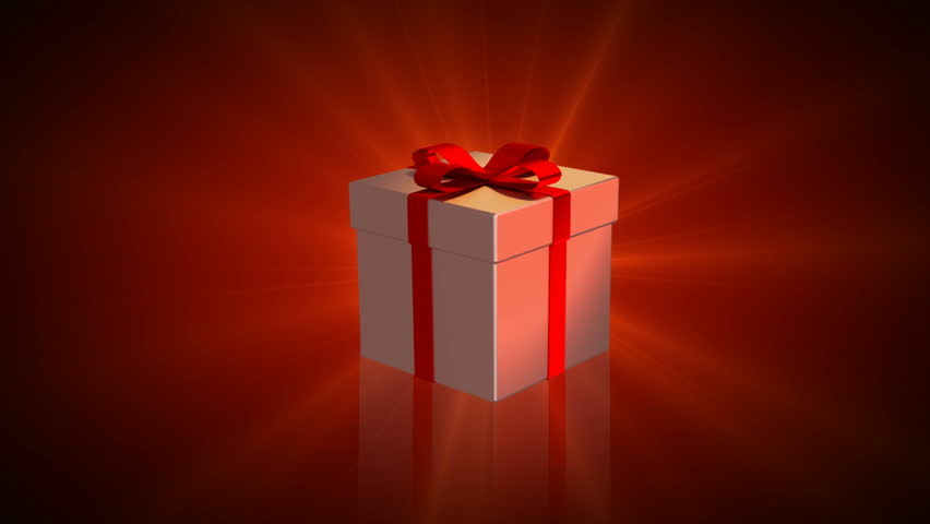 Gift boxes stock footage video shutterstock animated gift box spinning negle Images