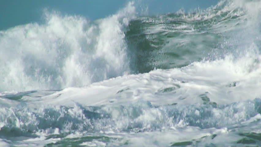 Ocean very big wave | Shutterstock HD Video #5512676