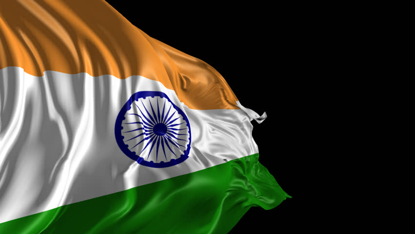 Indian Flag Images Hd720p: Flag Of India Beautiful 3d Stock Footage Video (100