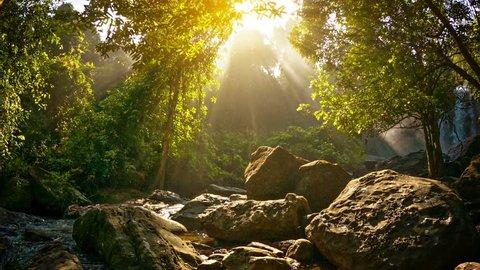 Video 1920x1080 - Waterfalls in Phnom Kulen National Park