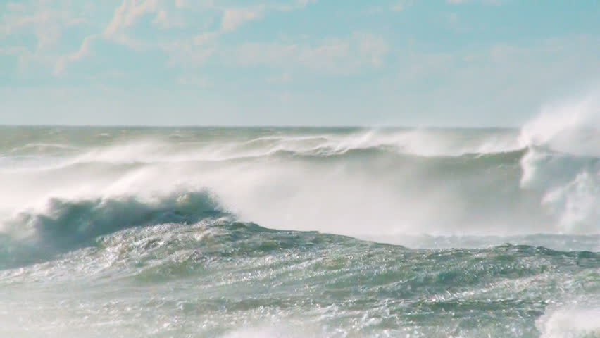 Ocean waves wind | Shutterstock HD Video #5600873