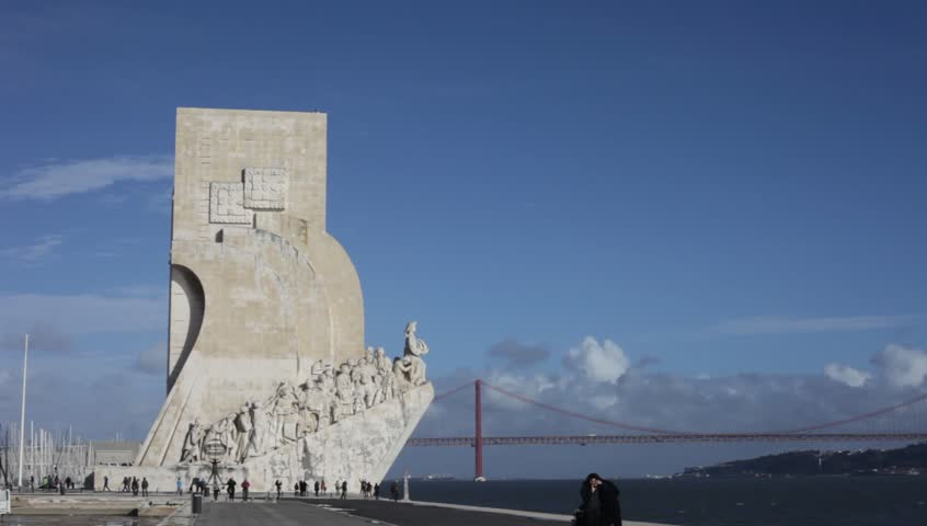 Lisbon Portugal May 28 2014 Tourist Visiting The