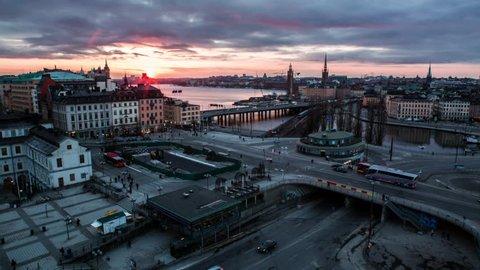 STOCKHOLM - 2013:  Stockholm aerial view