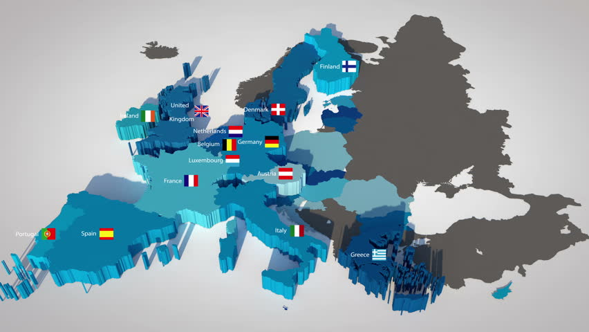 3d map of the european union with all countries ordered by year of 3d map of the european union with all countries ordered by year of entry gumiabroncs Choice Image
