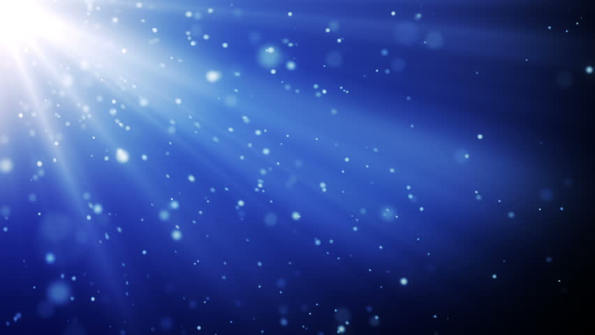4k Blue Particles Light Stream Animation Background Seamless Loop ...