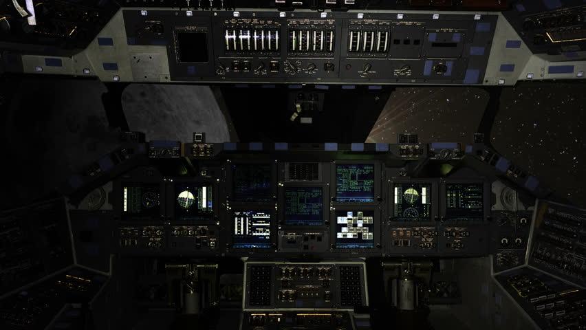 space shuttle cockpit start - photo #36