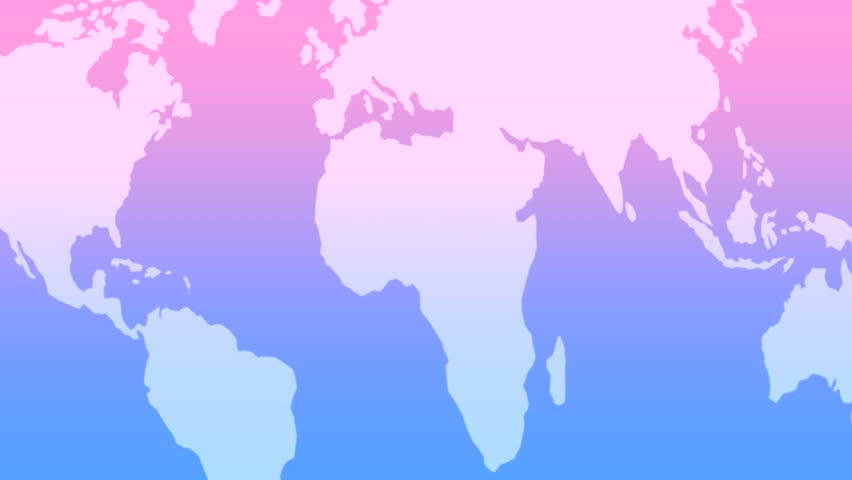 Earth map light blue silhouette diagonal loop 02 global earth map blue pink silhouette diagonal loop 02 global continental gumiabroncs Image collections