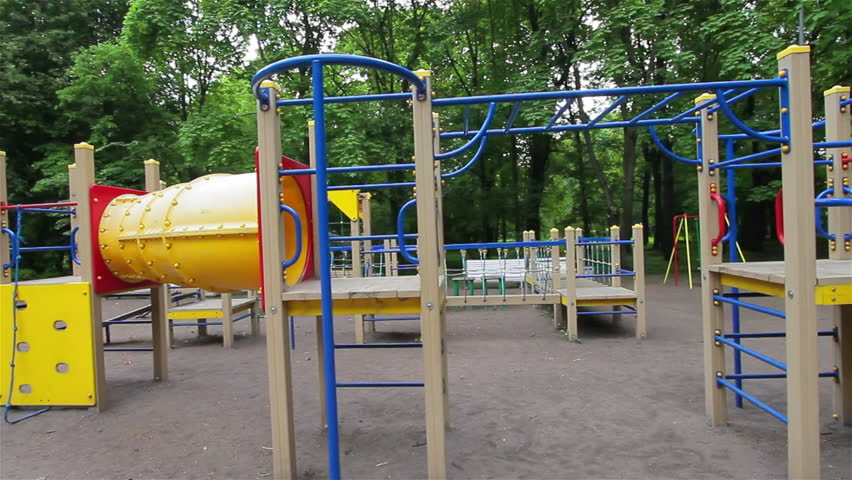Playground Short Obstacle Course Steady Smooth Motion