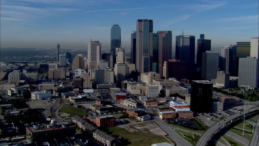 Dallas Skyline Morning. The morning view of the Dallas City skyline.