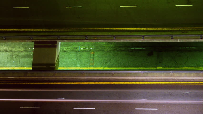 Time Lapse of Street Traffic at Night -Zoom Out- | Shutterstock HD Video #5759633
