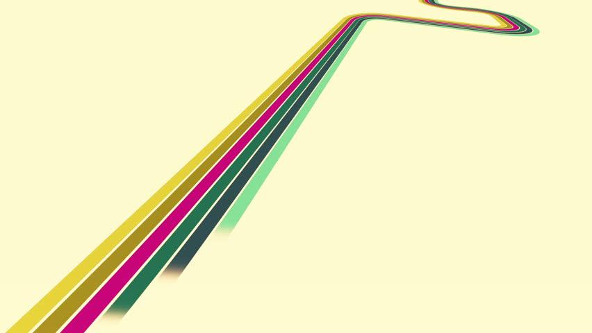 Retro stripe loop version   Shutterstock HD Video #5774153