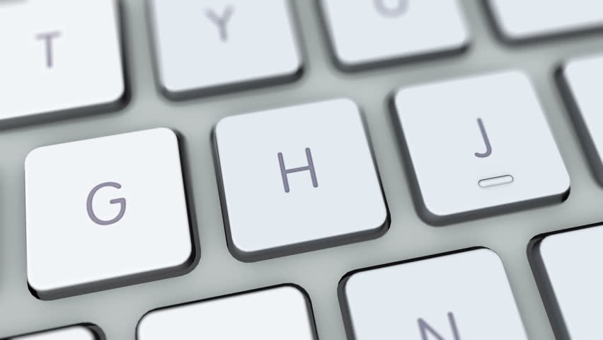 Hack Button On Computer Keyboard  Stock Footage Video (100% Royalty-free)  5839373 | Shutterstock