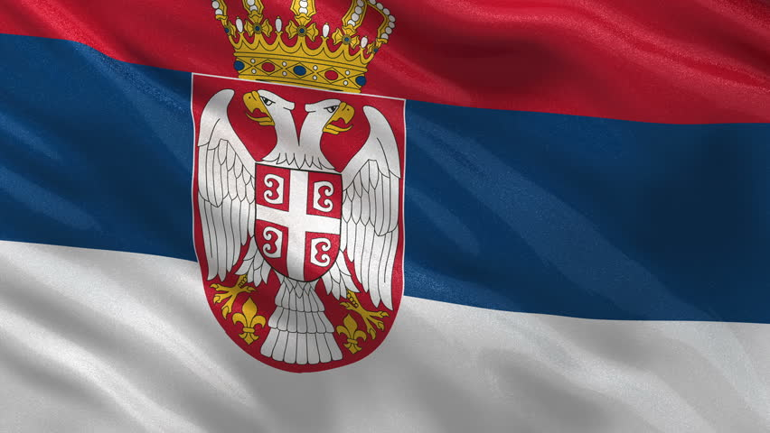 Serbia Flag Silk Stock Illustration 378831001 - Shutterstock