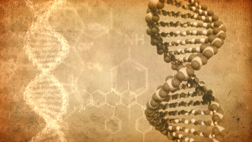 Stock Video Of Dna Rotate Abstract Background Old Brown