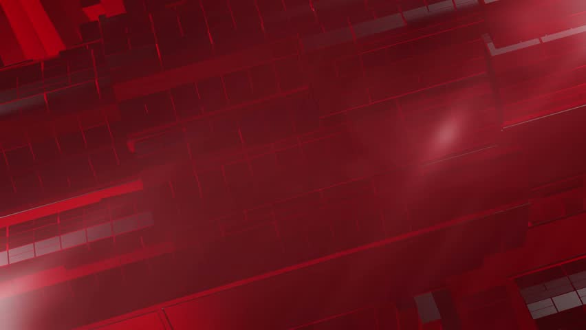 Breaking News Style Rotating Abstract  Shape with Lens Flares Abstract Red Background 3D Animated Computer Design Abstract Background | Shutterstock HD Video #5865182