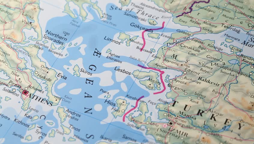 Close up of a detailed world map stock footage video 7937986 close up of a detailed world map hd stock video clip gumiabroncs Images