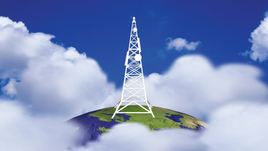 Animation of a Transmission Tower in HD  | Shutterstock HD Video #608473