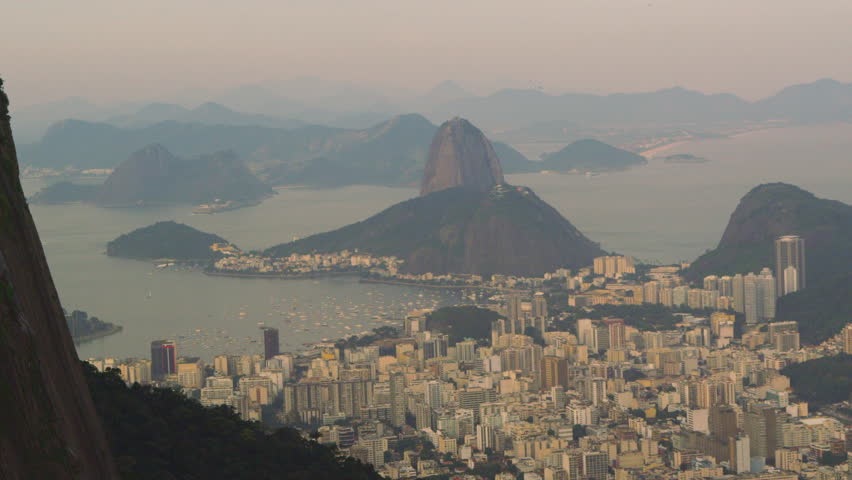 Tracking aerial shot of Rio de Janeiro, Brazil taken from a helicopter   Shutterstock HD Video #6107333