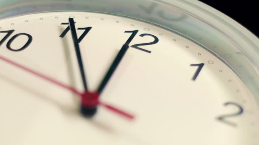 Macro - hyperlapse of a clock - timelapse | Shutterstock HD Video #6194588