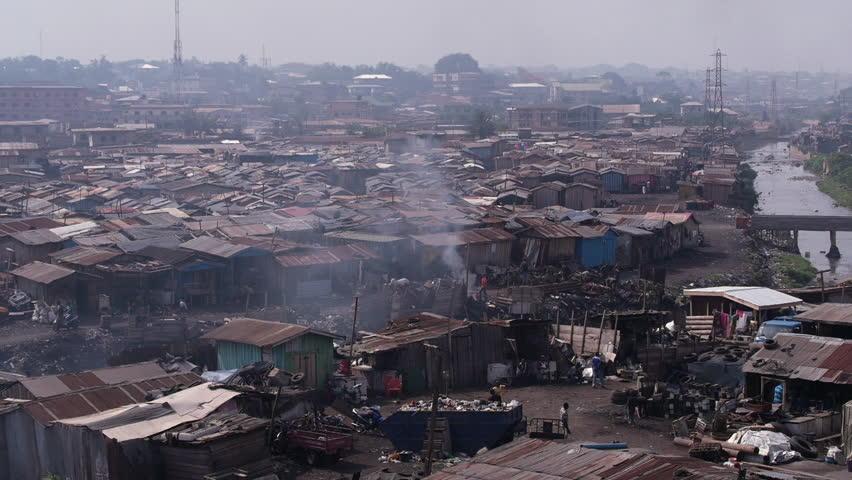 Header of slum area