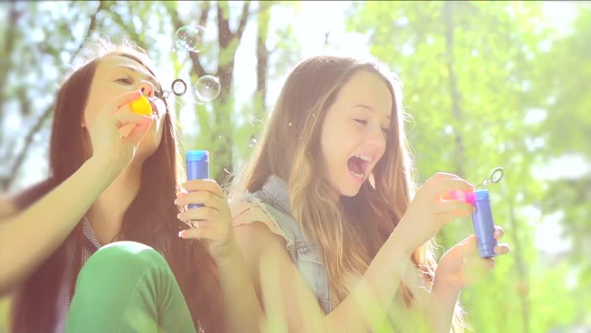Outdoor teen fun