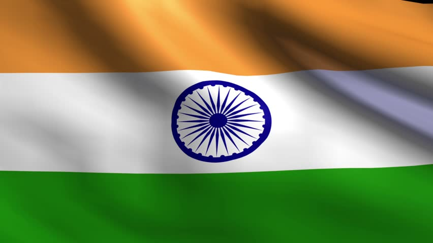 For Indian Flag Hd Animation: India Shining Waving Flag