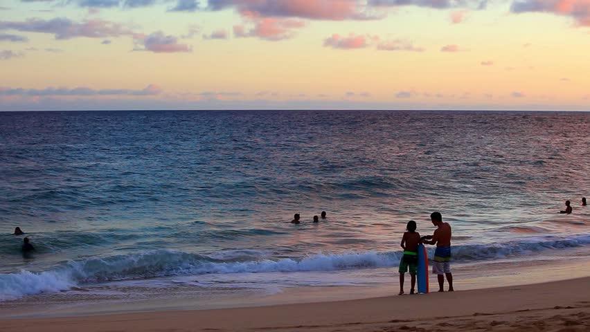 SANDY BEACH HAWAII USA