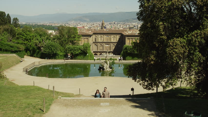 The Boboli Gardens Florence Italy Free Stock Video Footage Download ...