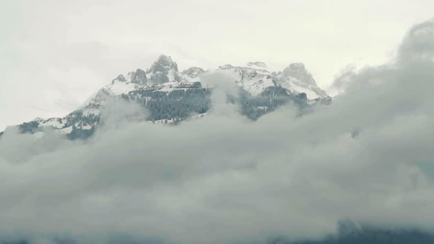 Alps mountain landscape. | Shutterstock HD Video #6433643
