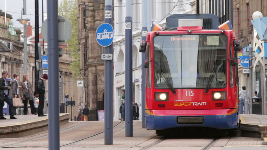 UK: Stagecoach Supertram, Sheffield, South Yorkshire. Inc ...