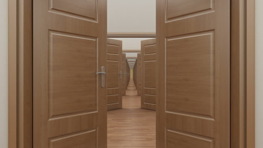 Stock video of pass enfilade open 3 doors. alpha | 6548993 | Shutterstock & Stock video of pass enfilade open 3 doors. alpha | 6548993 ...