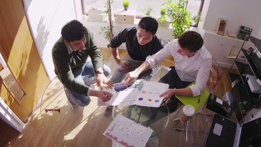 Coworkers having a meeting | Shutterstock HD Video #6558875