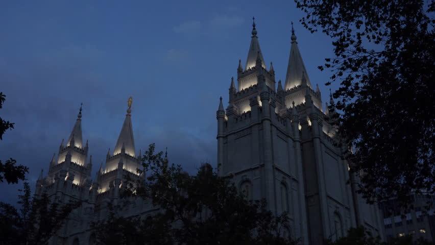 Salt Lake City, Utah - Stock Footage Video (100% Royalty-free) 6571553 |  Shutterstock