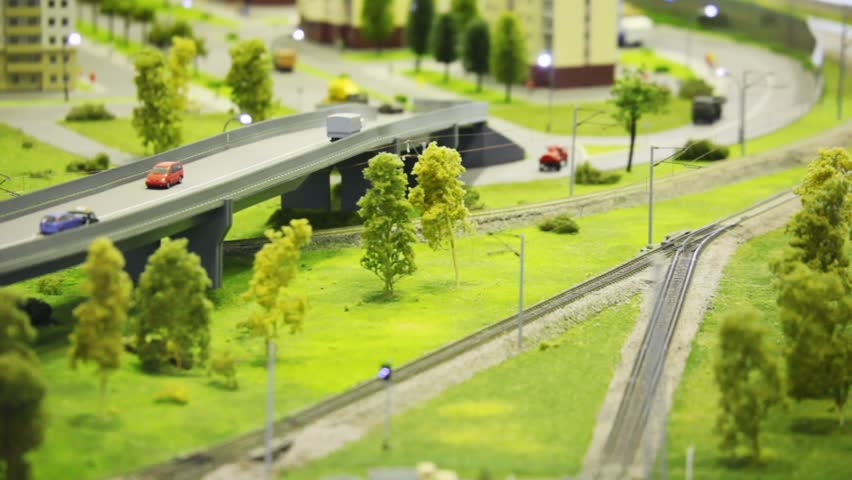 Toy Train Bring Cargo Wagon Stock Footage Video 100 Royalty Free