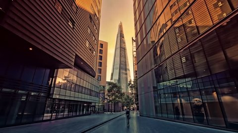 The Shard at London Bridge, 4k, Ultra High Definition, Ultra HD, UHD