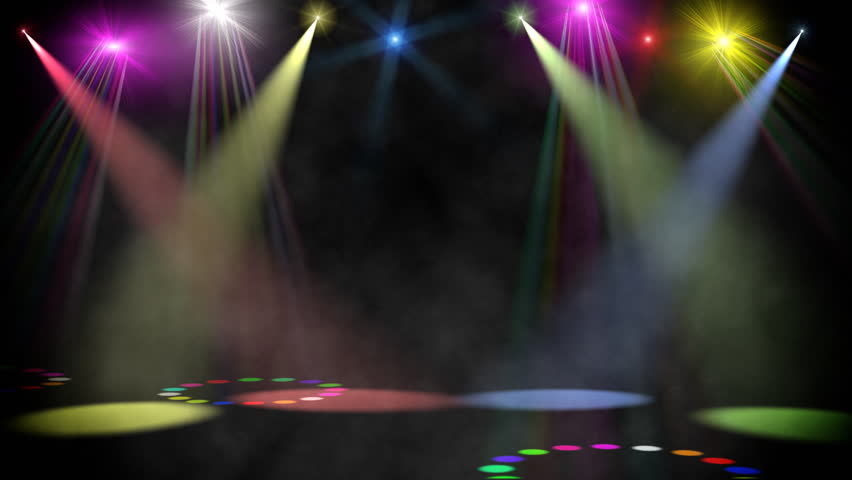 Stage Light 2 Stock Footage Video 817327
