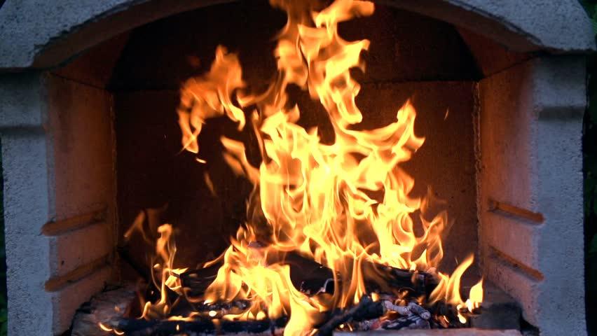 Crackling Fire Stock Footage Video 9482912   Shutterstock