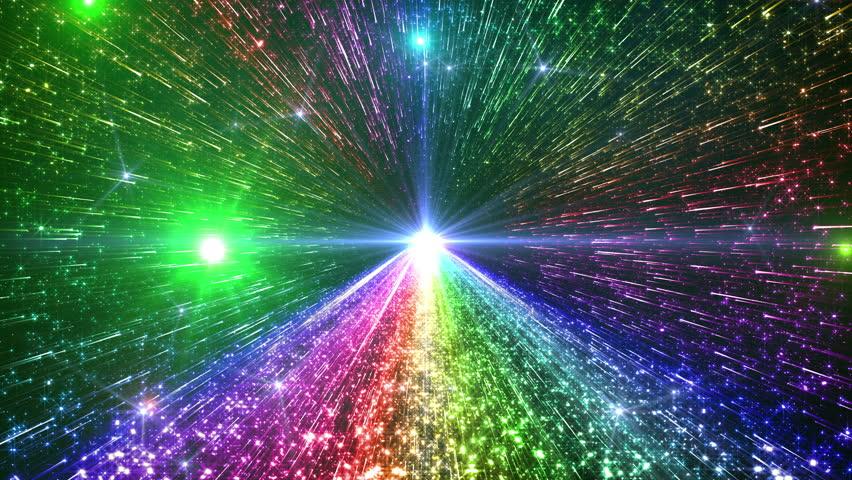 4k rainbow shining space - photo #9