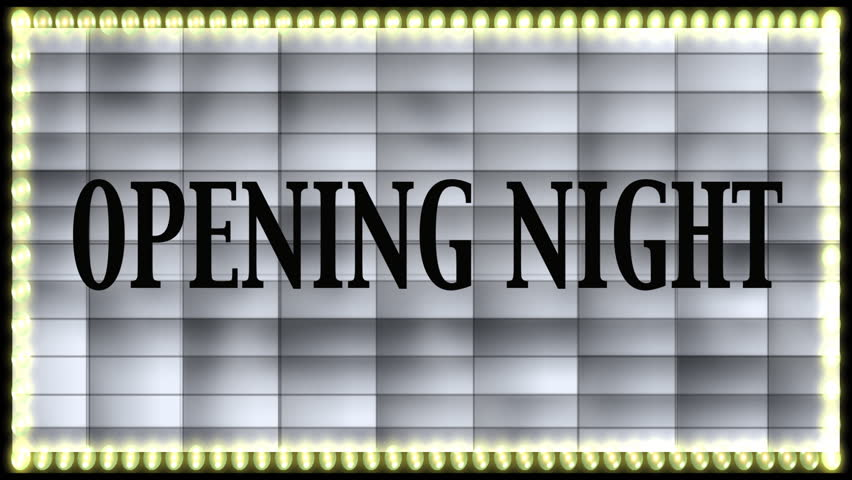 Opening night marquee with and without text | Shutterstock HD Video #670003