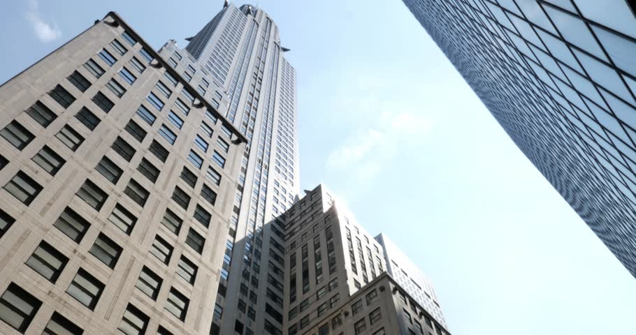 An establishing shot of the Chrysler Building in Manhattan, New York City. | Shutterstock HD Video #6835243