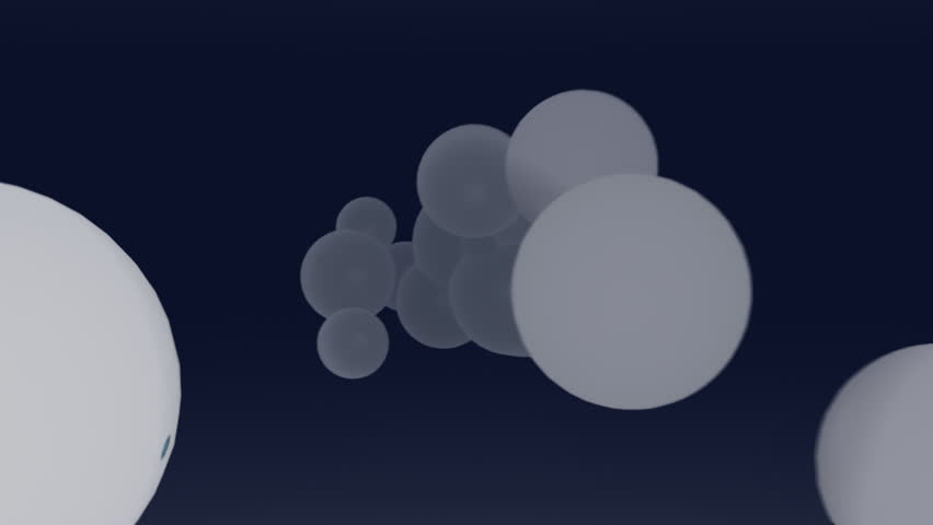 White pearls on grey | Shutterstock HD Video #68710