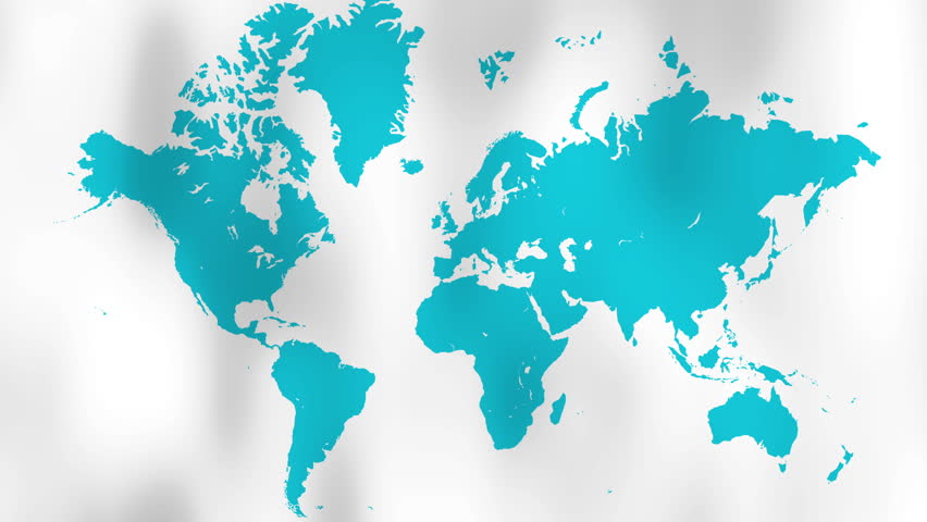 World map design animated world map at colourfull background world map waving white flag with alpha channel 4k stock video clip gumiabroncs Choice Image