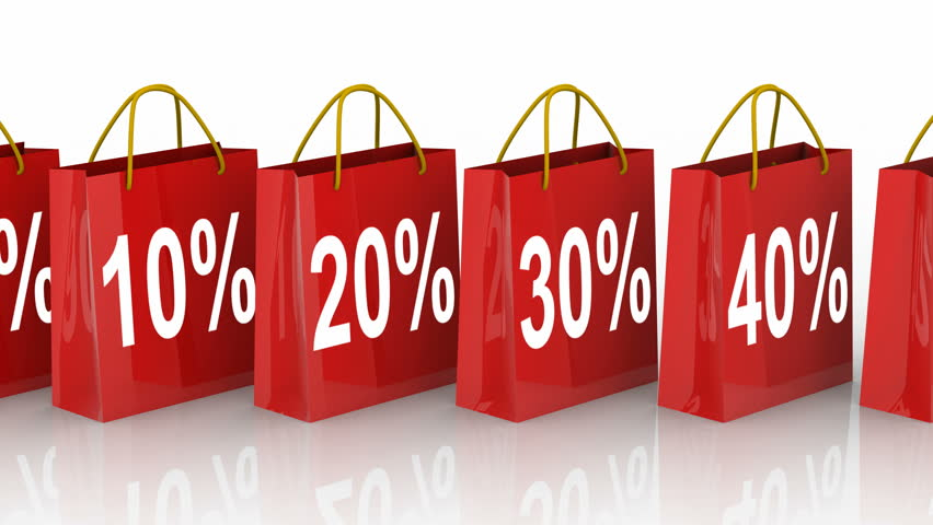FINAL SALE Sign With Animated Shopping Bags Stock Footage Video ...