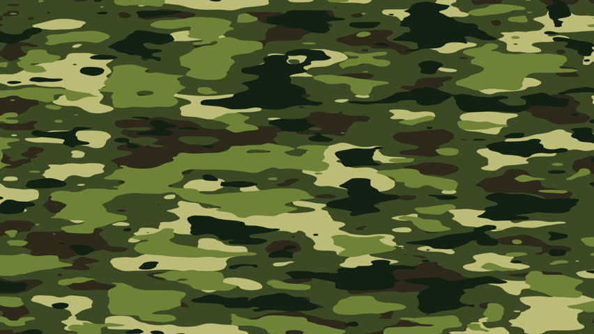 28 Free Camouflage Hd And Desktop Backgrounds: Green Camouflage Background, Seamless Loop Stock Footage