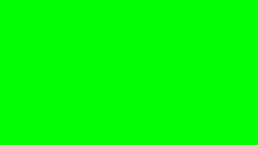 Dragon worm appears and disappears on green screen   Shutterstock HD Video #7007563