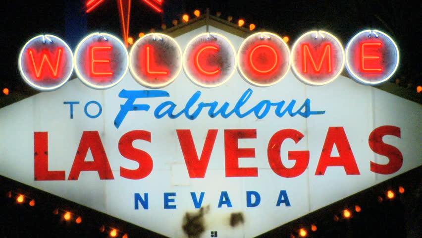 Welcome to Las Vegas sign | Shutterstock HD Video #706303